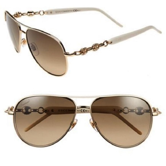 b7f6c3b98b0 Gucci Accessories - Gucci Aviator Sunglasses Swarovski Crystal GG 4239